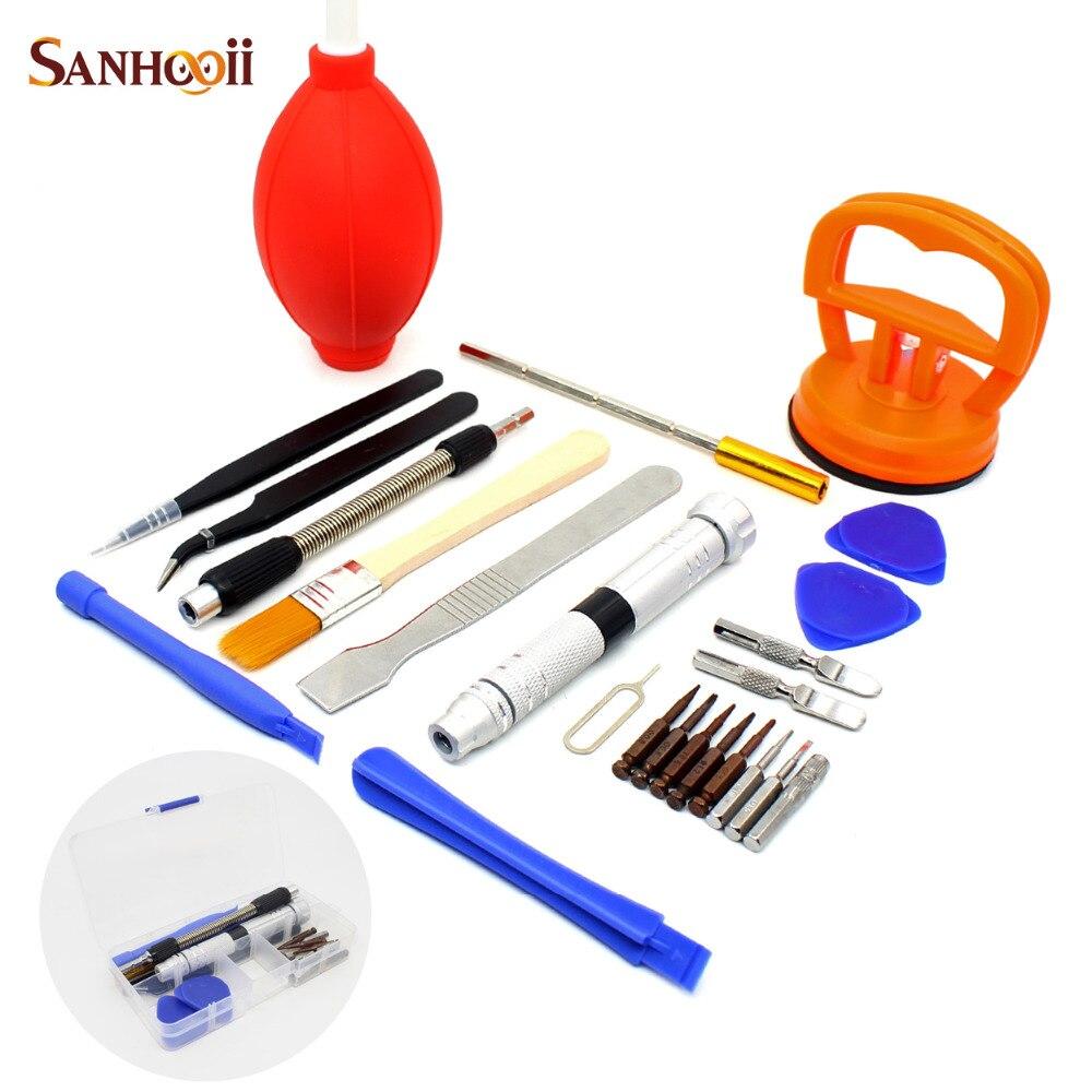 sanhooii all in one screwdriver repair tools set screen opening tool kit. Black Bedroom Furniture Sets. Home Design Ideas