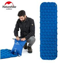 Naturehike Outdoor Camping Mat Inflatable Bag Inflatable Mattress Ultralight Tent Sleeping Pad Portable Camp Moisture-proof Pad цена