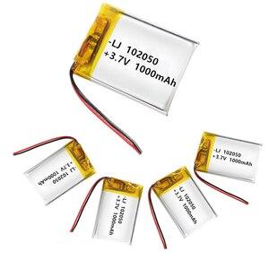 1000mAh 3.7 V Lithium-ion Poly