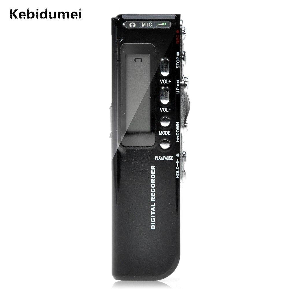 Kebidumei 8 ГБ Мини Цифровой Аудио Голос Регистраторы голосовой активации USB Pen цифровой аудио Регистраторы диктофон MP3-плееры gravador