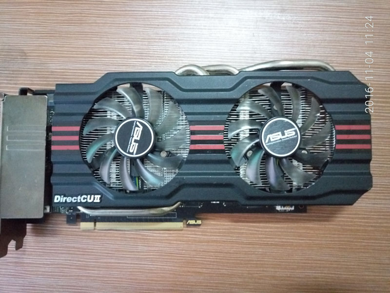 Used graphics card GTX660TI 2G D5 GTX660TI-DC2T-2GD5 image