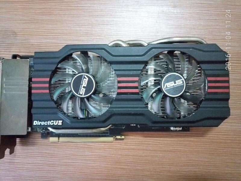Used Graphics Card GTX660TI 2G D5 GTX660TI-DC2T-2GD5