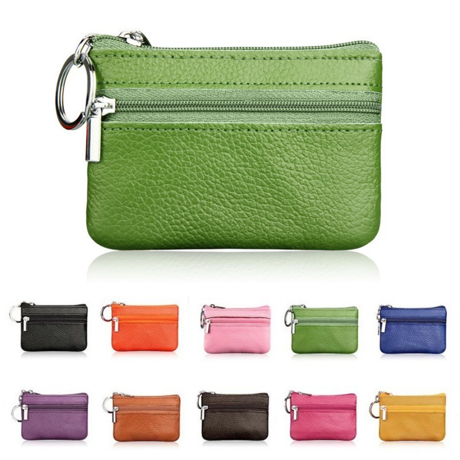 цена на 2018 Children Small PU Leather Coin Purse Women Small Wallet Pocket Wallets Change Purse Money Bags Mini Zipper Pouch Key Holder