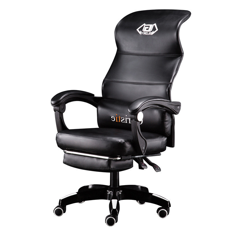 Computer European Household Lift Swivel Ergonomic Boss Can Lie To Work Office Chair Gaming Game Cadeira Gamer(China)