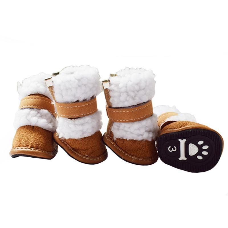 Aliexpresscom  Buy 4Pcs Set Winter Pet Dog Snow Boots -6580