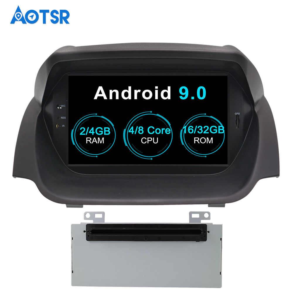 Aotsr أندرويد 9.0 نظام تحديد المواقع والملاحة سيارة مشغل ديفيدي لفورد فييستا 2013-2016 الوسائط المتعددة 2 الدين راديو مسجل 4GB + 32GB 2GB + 16GB واي فاي