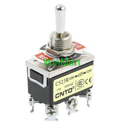 Lighting Accessories Lights & Lighting C523r Dpdt 3 Way On/off/on Momentary Rocker Toggle Switch Ac250v 15a With Traditional Methods