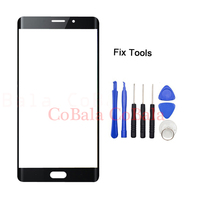 1Pcs Original Black For Xiaomi Mi Note2 Note 2 Front Glass 5 7 Touch Screen Outer