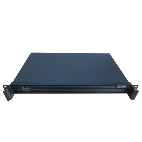 1u short chassis router / soft routing / firewall / industrial / POS / industrial control chassis ITX chassis computer case 1u mini case ultrashort atom itx firewall chassis ros soft route