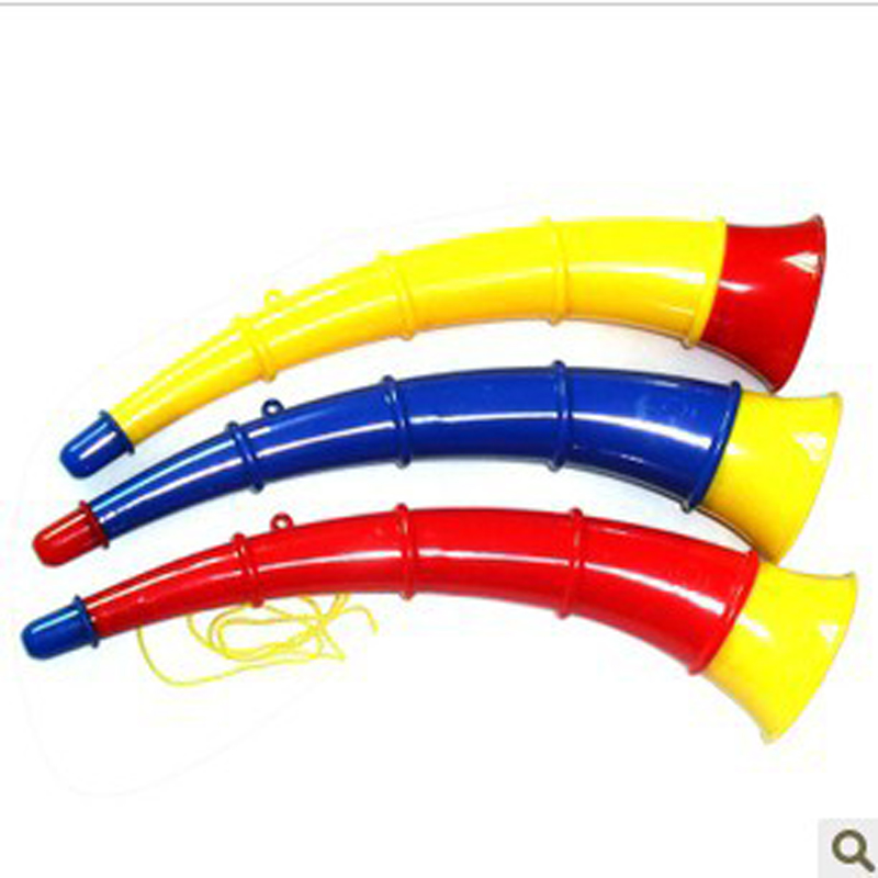 Plastic Toy Musical Instruments : Free shipping pcs lot plastic horn toys kid big