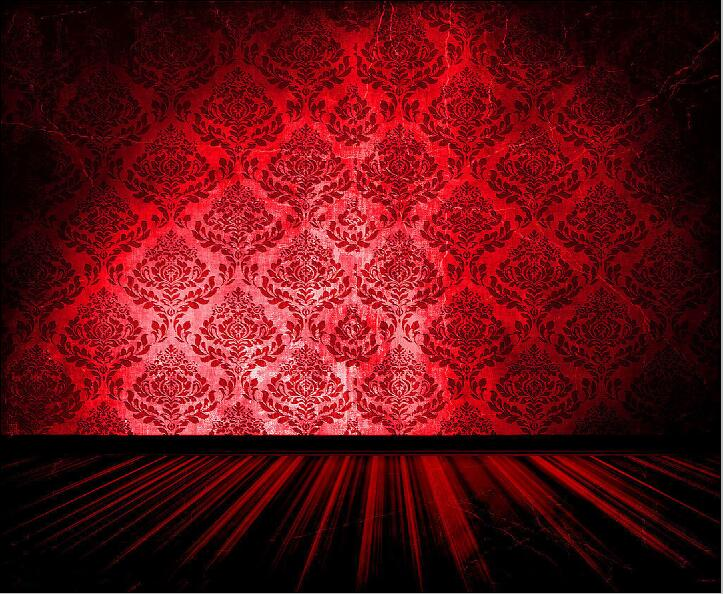 SHENGYONGBAO 12X10FT Vinyl  Custom Photography Backdrops Props  red curtain theater Photo Studio Background NYSHD-80023 vinyl floral flower newborn backdrops cartoon unicorn photography background studio photo props 5x3ft