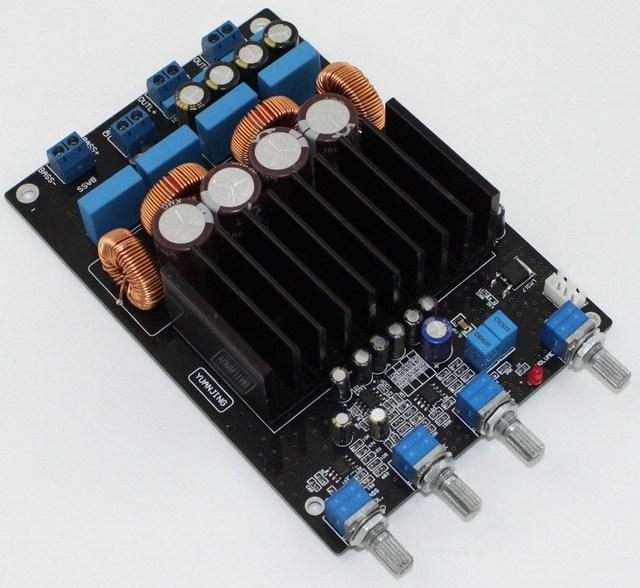 Frss Доставка TAS5613 2.1 цифровой усилитель мощности совет Класса D 75 Вт + 2*150 Вт (4 Ом), помимо TPA3116 LM1875