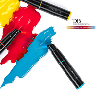 DI5 Color gel mixing pens kit world wide 5 pens make 80 colors with App