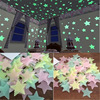 מדבקות לחדר ילדים- כוכבים זוהרים בחושך 1