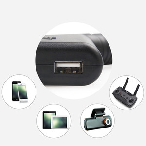 Image 4 - 2 in 1 Car Charger for DJI Spark Part 7 Battery Charging Hub and Remote Control for DJI Spark Drone Accessories