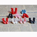 1 Pair Cute Mini 1/6 High-heeled Licca Doll Shoes, Suitable for Blyth Doll