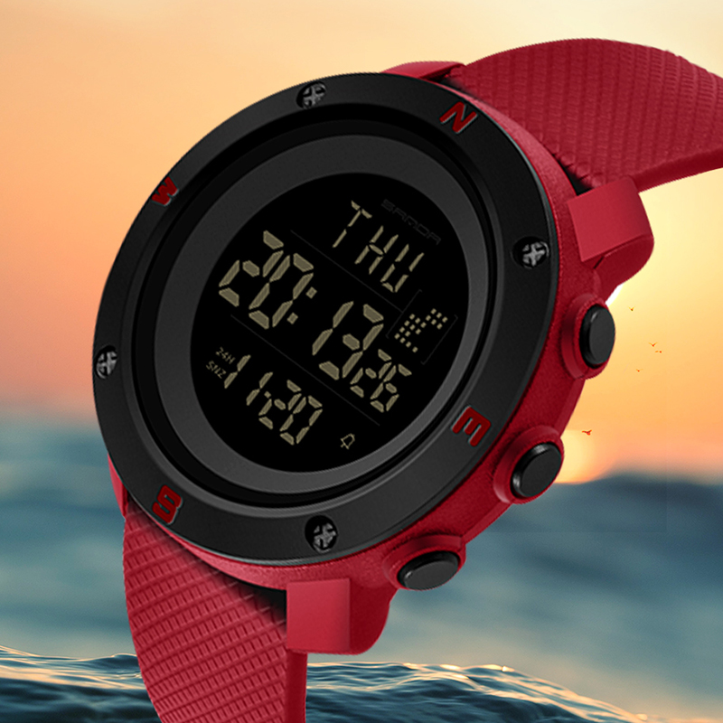 New Women Sports Watches Digital Clock Waterproof Woman Watch Student Girl Fashion Ladies Wristwatches Hours Relojes Mujer 2018