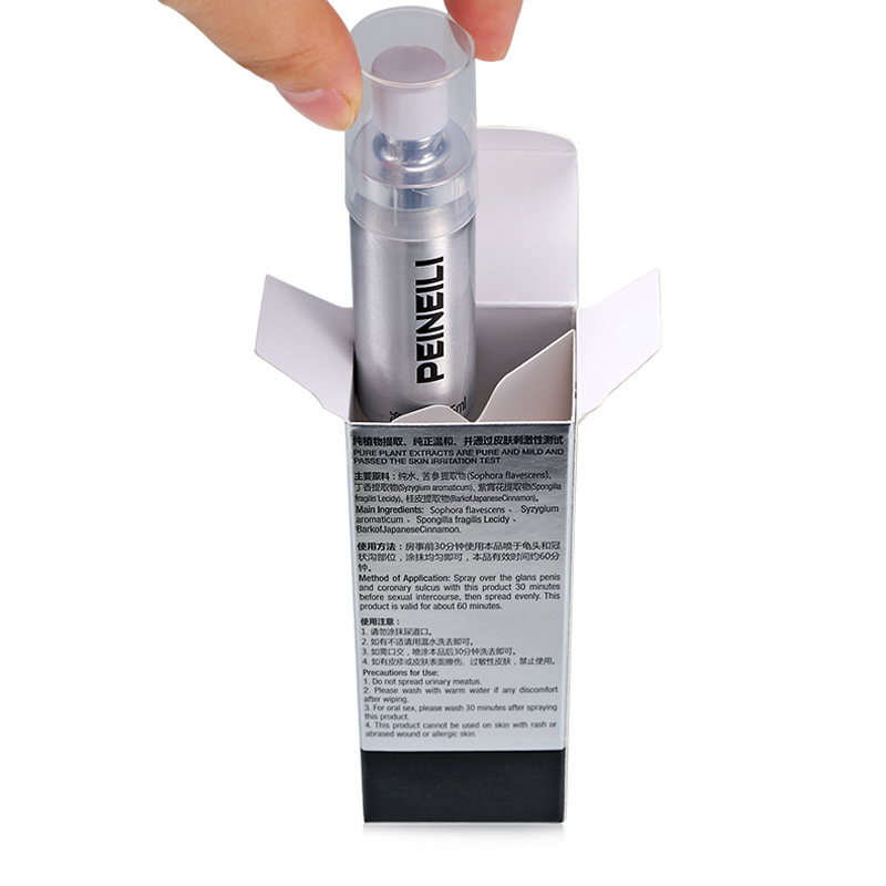 Peineili Delay Spray For Male Anti Premature Ejaculation Prolong 60 Minutes Big Dick Enlargment Spray Cock Erection Enhance Bath & Shower