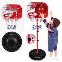 Basketballkorb Set Höhenverstellbar Aktivität Sport Spielzeug Basketball Stehen Ziel Halter Rack Für Kinder Kind Sport Spielzeug