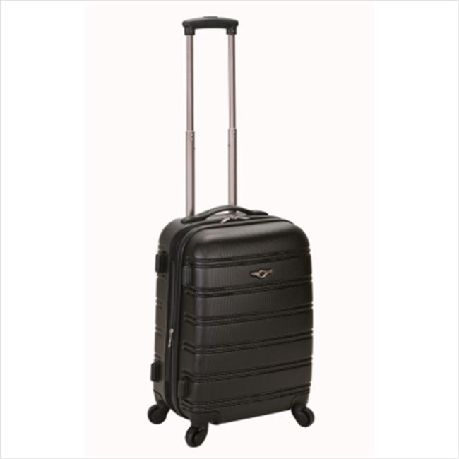 ROCKLAND F145-BLACK MELBOURNE 20 Inch EXPANDABLE ABS CARRY ON migos melbourne