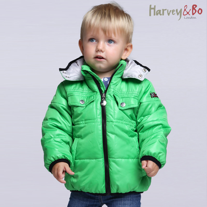 b0e6f2fc Baby/toddler's/kids brand outerwear boys girls hooded cotton-padded jacket  children spring autumn lightweight coat high quality!