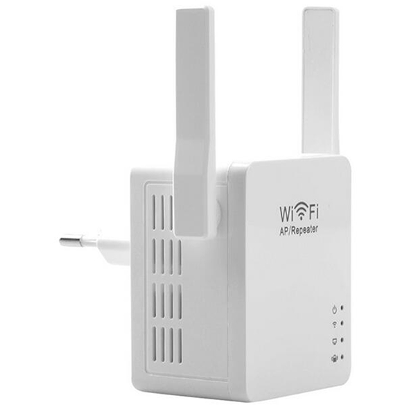 NOYOKERE USB WiFi Repeater WiFi Range Extender with Micro USB2.0 Port 5V/2A 802.11N Booster Signal and AP Mode EU/US Plug