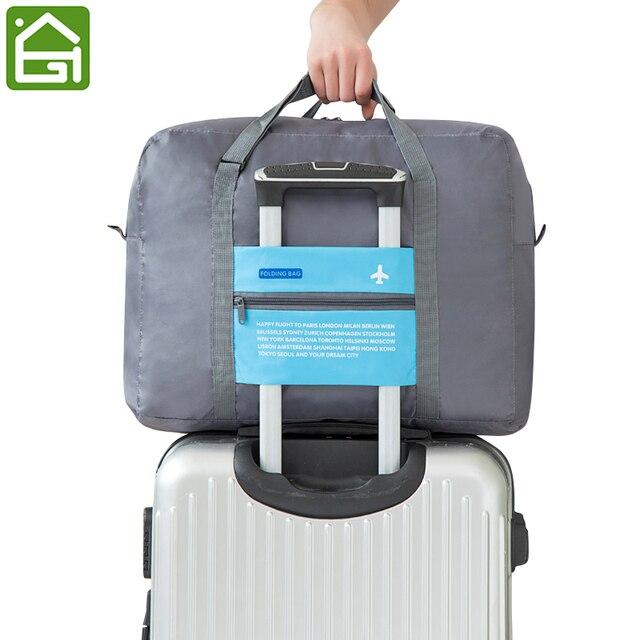 9868260955e Grote Capaciteit Reizen Vakantie Bagage Organizer Bag Koffer Draagtas  Waterdichte Lichtgewicht Kleding Duffel Tote Tas