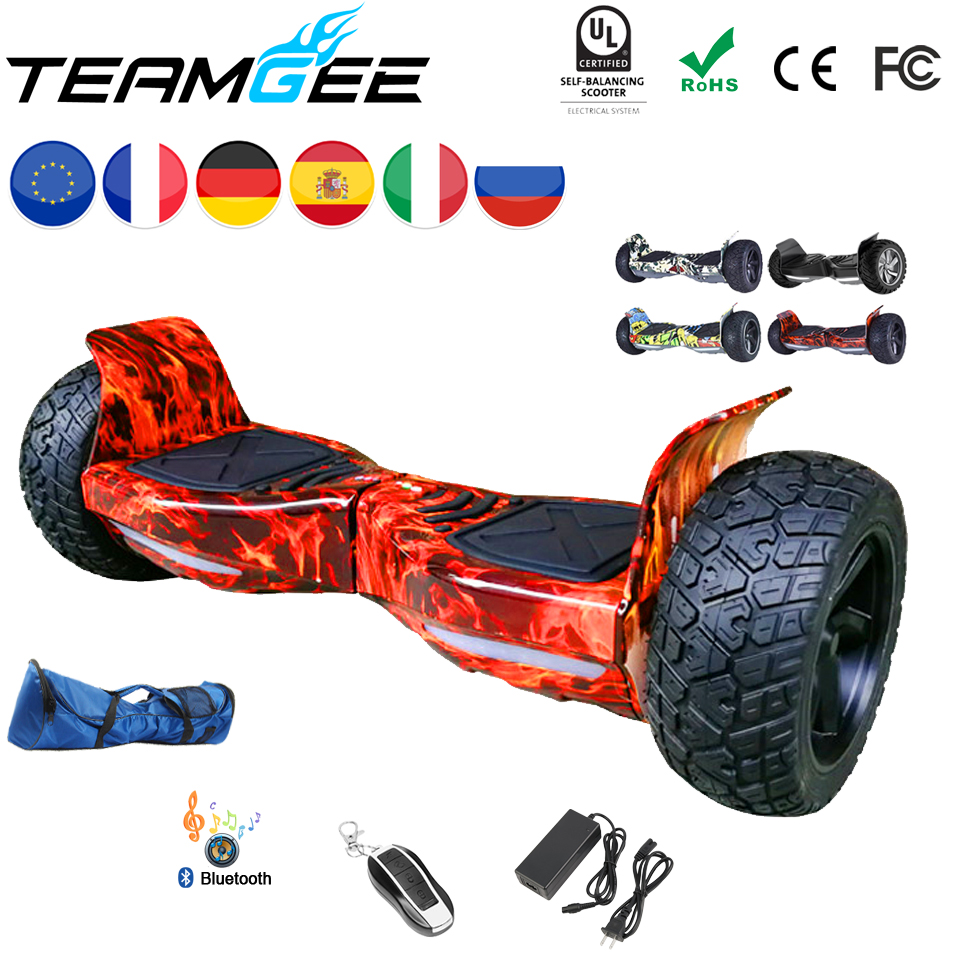 Hoverboard Hummer 8.5 Inch Smart Balance Board Overboard Skateboard Electric Longboard Electric Hoverboard 8.5 Off Road Scooter koston longboard skateboard scooter black skate helmet