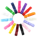15pcs/lot Toddler Classic Mini Assort Ribbon Bow Hair Barrettes Hair Clip Set