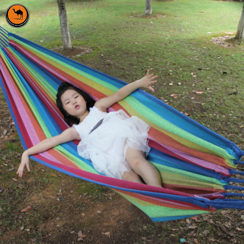 Portable Hammock 200*150cm Hanging Sleeping Bed Parachute Nylon Fabric Outdoor Camping Hammocks Double Person Swing Bed thicken canvas single camping hammock outdoors durable breathable 280x80cm hammocks like parachute for traveling bushwalking