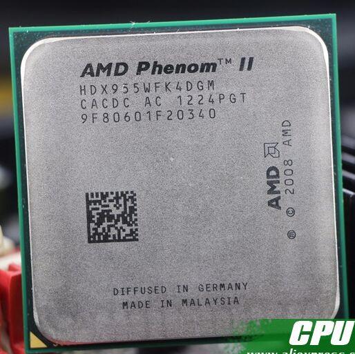 Бесплатная доставка AMD Phenom II X4 955 Desktop Процессор Processor 3,2 ГГц 6 МБ разъем AM2 +/AM3/95 Вт 938Pin Quad-CORE scrattered штук