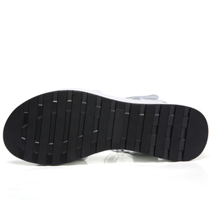 Image 5 - Genuine Leather Women sandals shoes Platform ladies white Sneakers Sandals shoe 2018 summer open toe Fashion High Heel footwear