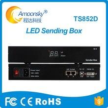 Amoonsky светодиодный экран Отправитель коробка с Linsn TS802 отправки карты и электропитанием включены linsn ts802d Отправитель коробка