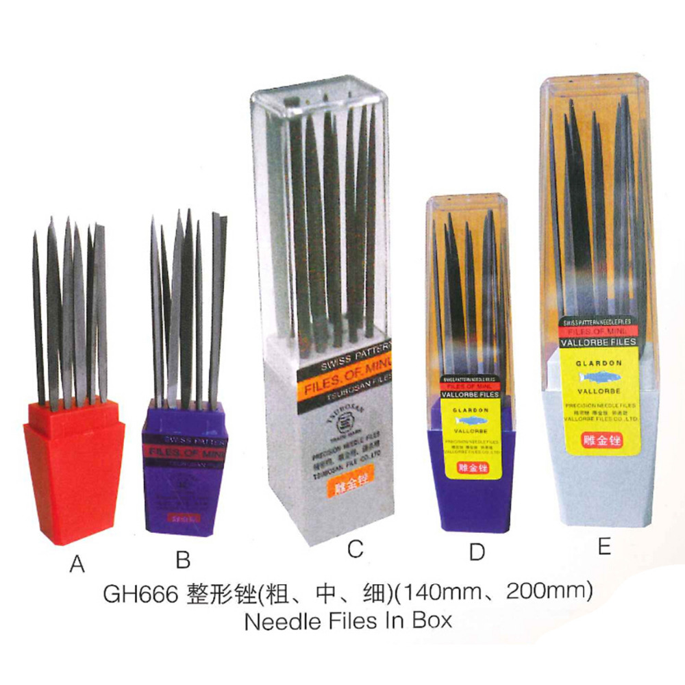 A 10Pcs 140mm Metal Needle Files Gold Silver Acid Solution Scrap Metal Jewelry Testing Test Kit