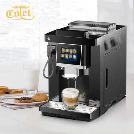 CLT-Q007 Touch screen smart one-button fancy coffee machine home automatic Italian grinder small цена