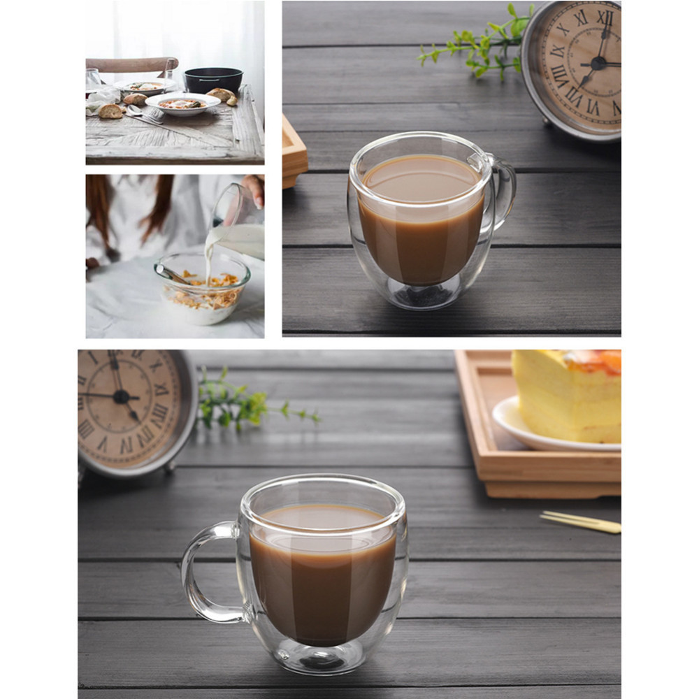 Double Wall Thermal Coffee Glass 4