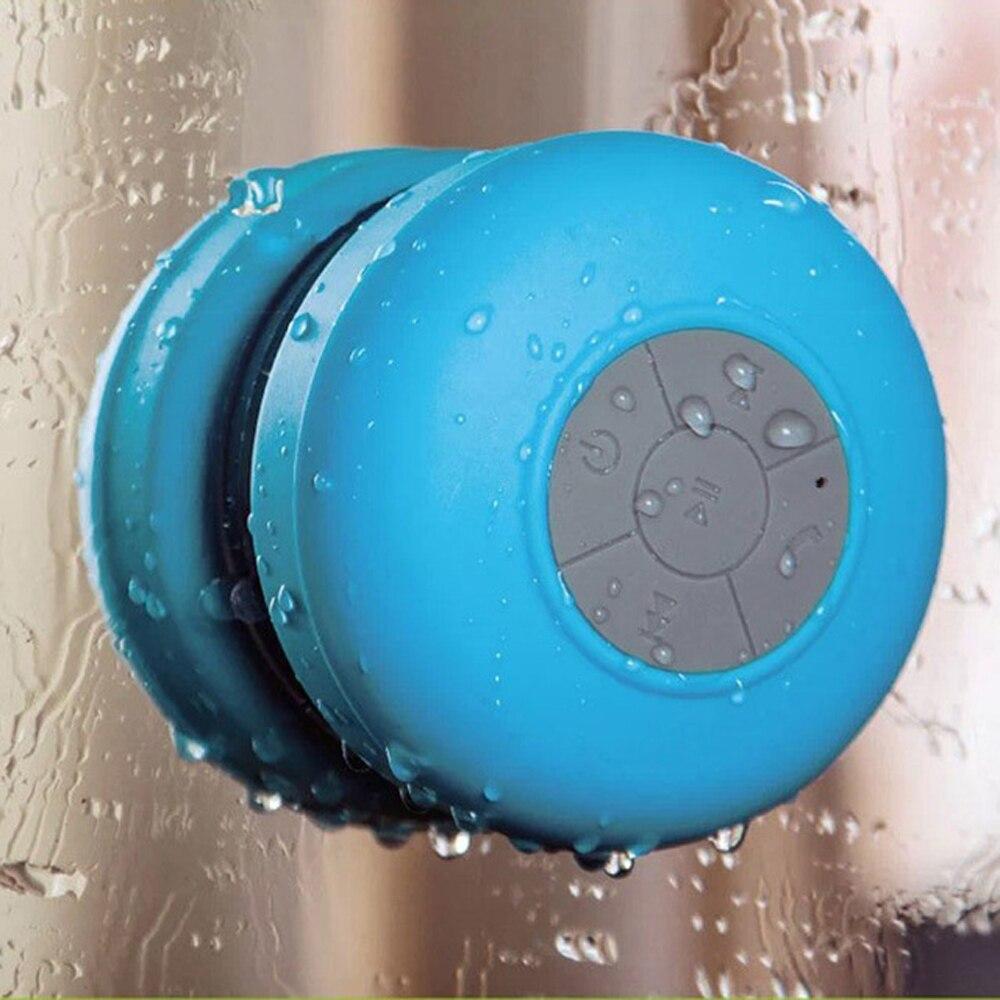 Us 11 11 5 Off Waterproof Wireless Bluetooth Speaker Mini Portable Bathroom Speakers Audio Receiver Music Player For Iphone Samsung Huawei Sony In