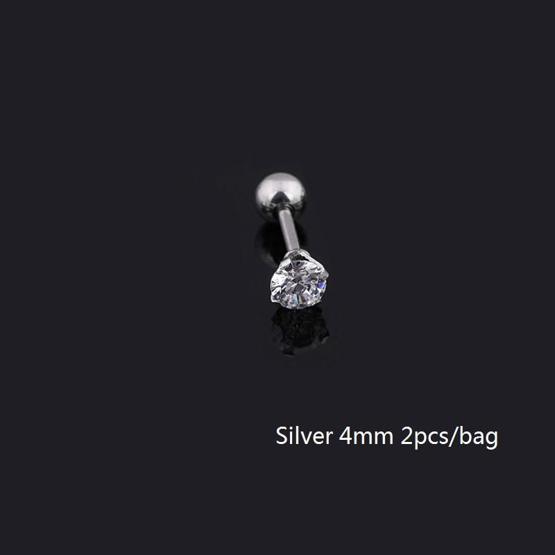 4mm Silver