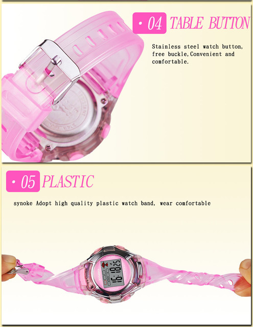 Children Boys Student Waterproof Sports Watch LED Digital Date Wristwatch Reloj Mujer 2018 Relogio Feminino kol saati student