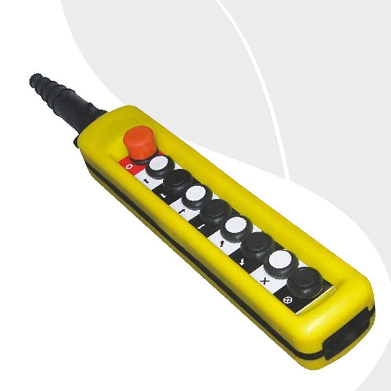Free Shipping XAC-A8713 9 button Single Speed crane derrick Motor control button control