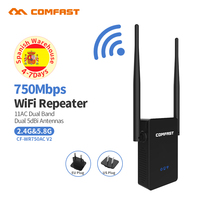 Wireless Router 750Mbps High Power Dual Band 2 4 5 8G Wifi Router Long Range Wifi