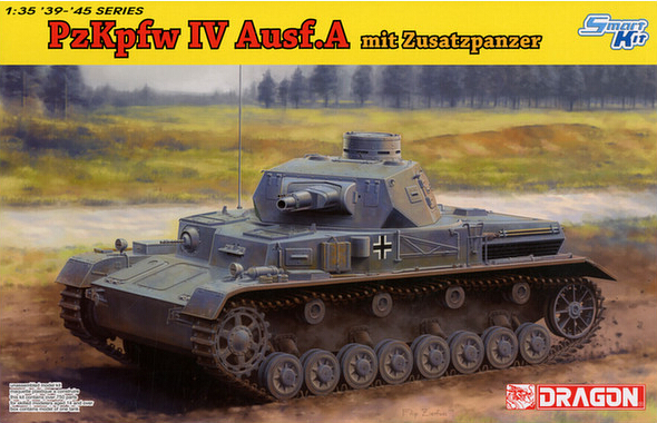 цены  1/35 DRAGON Pz.Kpfw.IV Ausf.A Up-Armored Version Tank Model # 6816