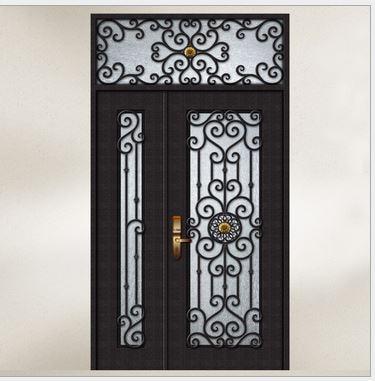 Custom design forged wrought Iron front doors iron doors iron entry doors  h wid6Online Get Cheap Forged Iron Door  Aliexpress com   Alibaba Group. Front Doors Cheap. Home Design Ideas