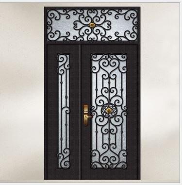 Hench 100% Steels Metal Iron Outside Double Doors