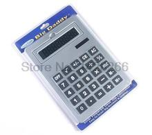 2017 New Office Handheld Calculator Large Solar Big Calculator 8 digits A4 Size 5 Colors Cute Calculadora 0.7kg