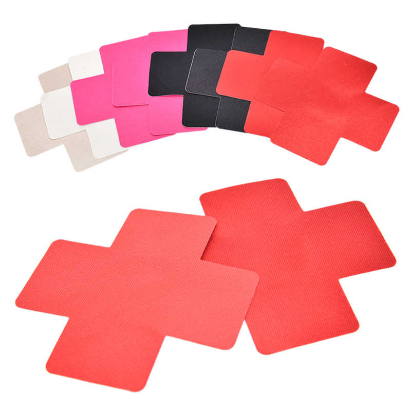 Lady Adhesive Nipple Covers Pads Body Breasts Stickers Disposable Emptied Chest Petals