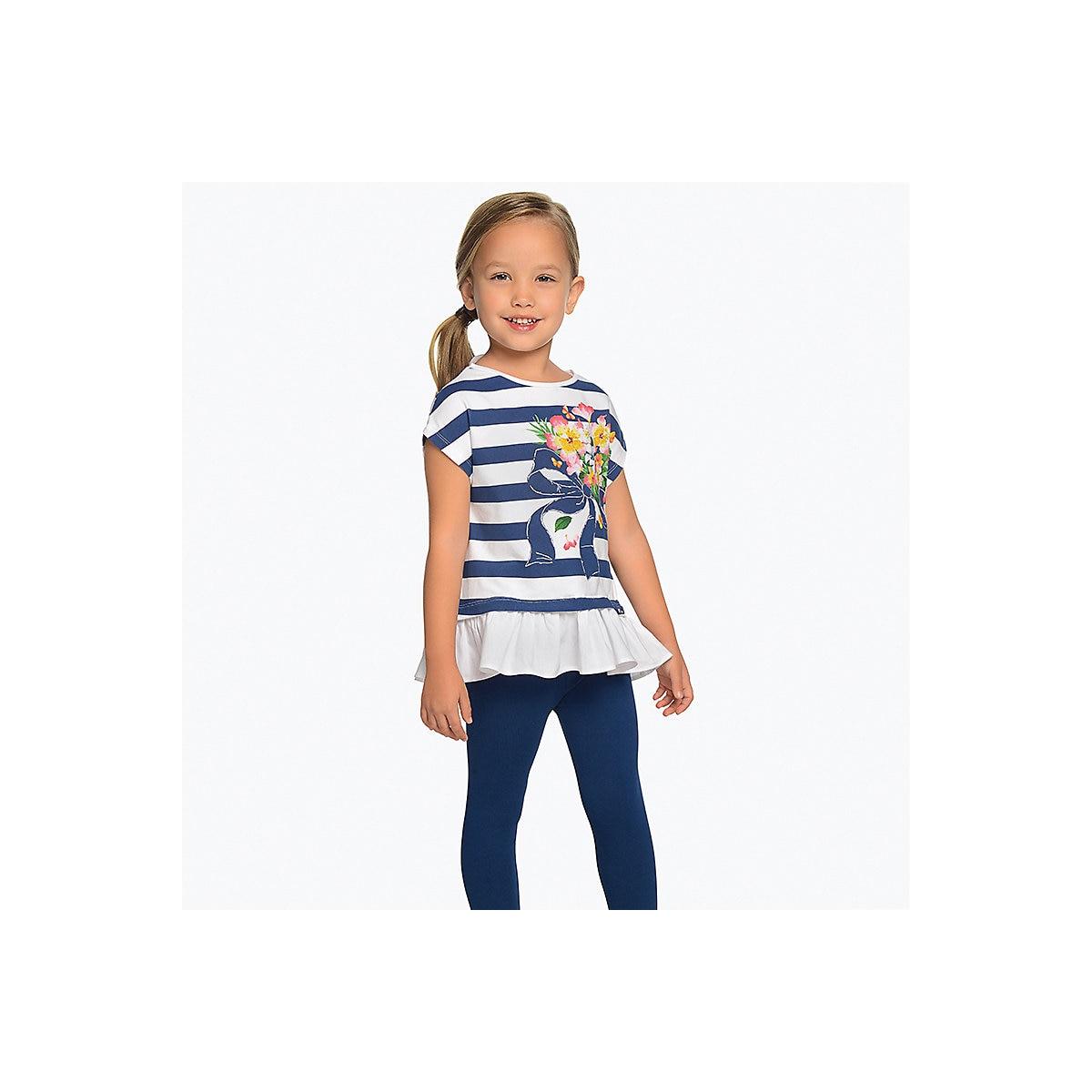 Conjuntos de niños MAYORAL 10687134 conjunto de ropa para niños pantalones camiseta piernas camisa pantalones cortos niñas y niños