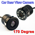 170 Degree Mini Car Rear View Camera Waterproof Auto Parking Assistance Reversing Backup HD CCD Image Sensor free shipppng