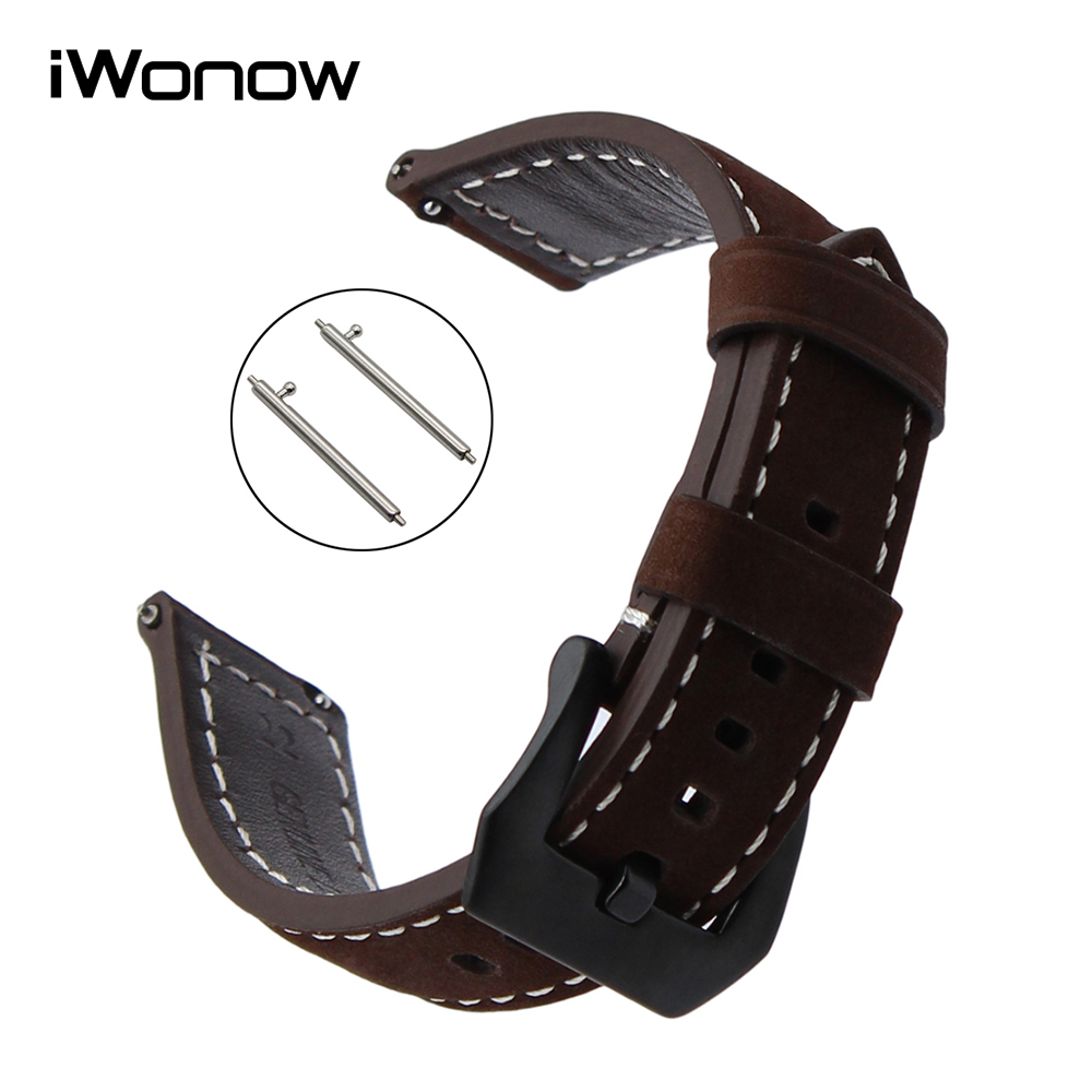 21mm 22mm quick release silicone rubber watchband universal watch band wrist strap stainless steel buckle belt bracelet black 22mm Quick Release Watchband Italian Calf Genuine Leather Watch Band Universal Wrist Strap Stainless Steel Buckle Bracelet Brown