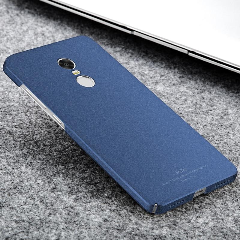 newest 9bfa4 d78d7 Fashion Xiaomi Redmi Note 4 Case Luxury Silm Smooth & Matte Hard ...